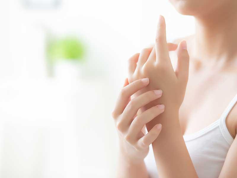 дерматит по ръцете